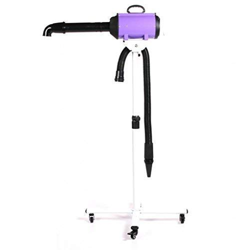 Pedigroom Professional Dog Grooming Dryer/Blaster On Stand Wheels Purple