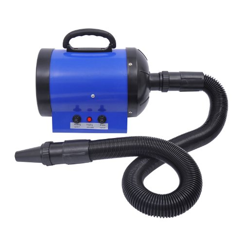 PawHut Dog Pet Grooming Hair Dryer Hairdryer Heater Blaster 2800W Blue
