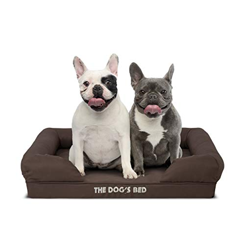 The Dog's Bed, Premium Plush Orthopedic Memory Foam Waterproof Dog Beds, Eases Pet Arthritis & Hip Dysplasia Pain, Therapeutic & Supportive Dog Bed, Washable Covers