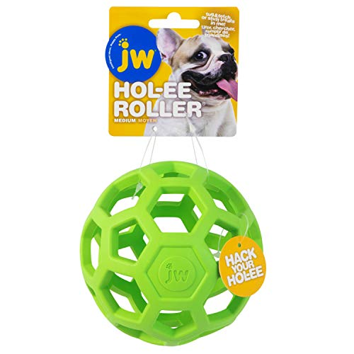 JW Hol-Ee Roller Medium By Dog Toy Chew And Bite, M