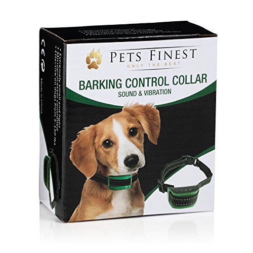 Pets Finest Anti Bark Dog Collar Sound & Vibration Anti Bark Dog Collar